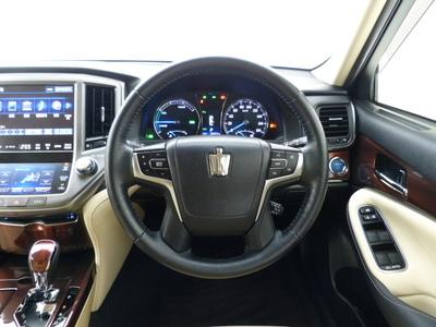 299万円 クラウン HV2.5L ロイヤルサルーン MJエアロスタイル WALD20インチ TEIN車高調 モデリスタエアロのサムネイル
