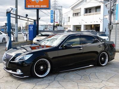 249万円 クラウン ロイヤルS MJエアロスタイル 本革 WORK LF1 20インチ TEIN車高調 モデリスタのサムネイル