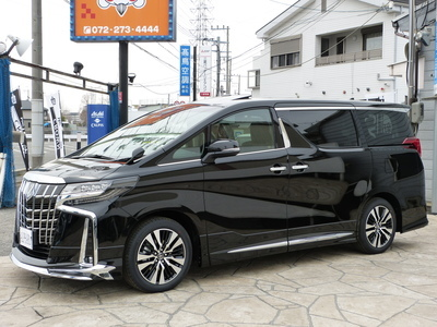 526万円 新車アルファード SCパッケージ SR 3眼ヘッド BIG-X11プレミアムセット モデリスタエアロのサムネイル