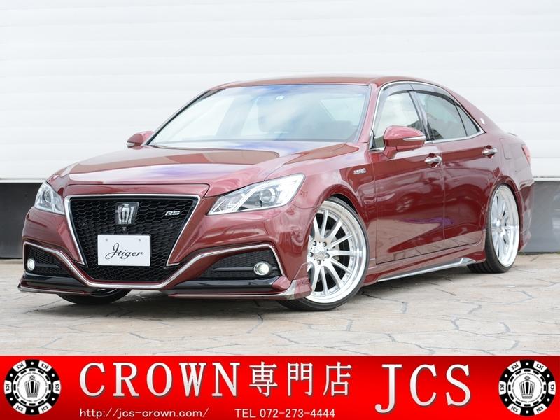 【売約済】318万円 Jタイガーカスタム ロイヤルサルーンG 21インチスタイルのサムネイル