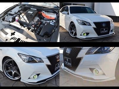 259万円 210HV アスリートS ブラックスタイル WORK20AW モデリスタ シルクブレイズ TRD ブリッツ車高調 のサムネイル