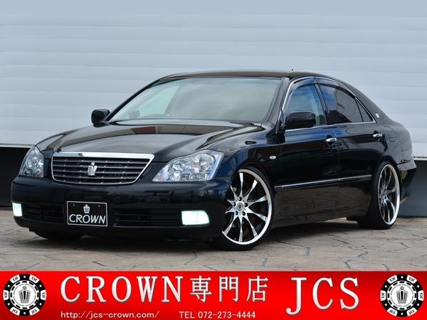 【売約済】19万円 ゼロクラウン ロイヤルサルーンG 3.0L WORK20インチ フルタップ車高調