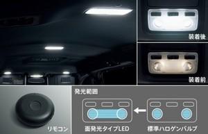80系ヴォクシー後期 モデリスタ LEDルームランプ(面発光タイプ)