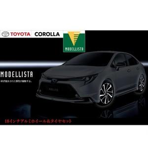 カローラ モデリスタ 18インチアルミホイール&タイヤセット