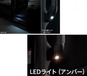 30系ヴェルファイア後期 モデリスタ LEDスマートフットライト